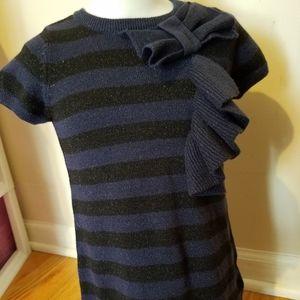 Knit stripes dress